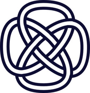 Celtic Knot Navy Clip Art