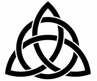 Celtic Trinity Knot Clipart #1
