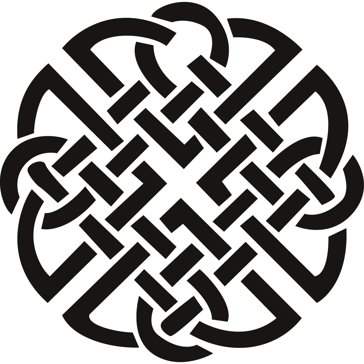 I went looking for celtic knot designs to decorate a nordic build
