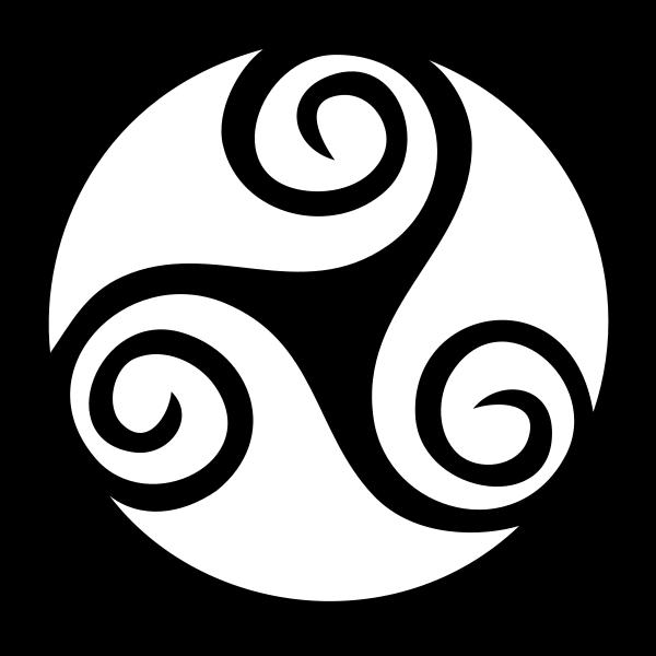 Celtic Triskell 01 Clipart