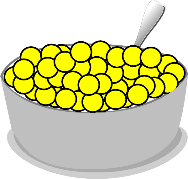 Cereal Bowl Clipart