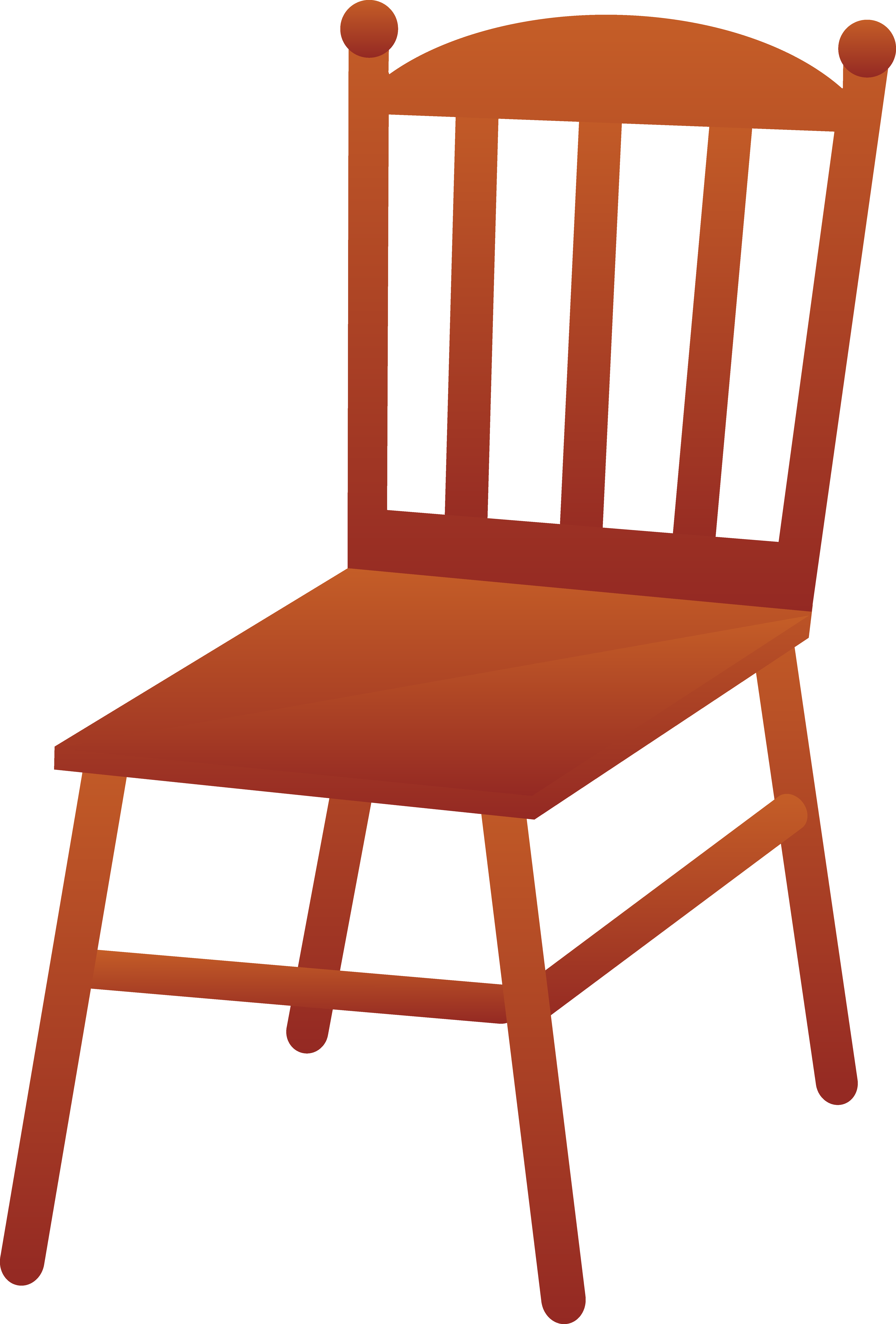 chair clipart black and white