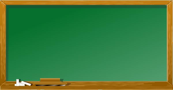 Chalkboard and Apple. Clean Blackboard Clip Art At Clker Com Vector Clip Art Online
