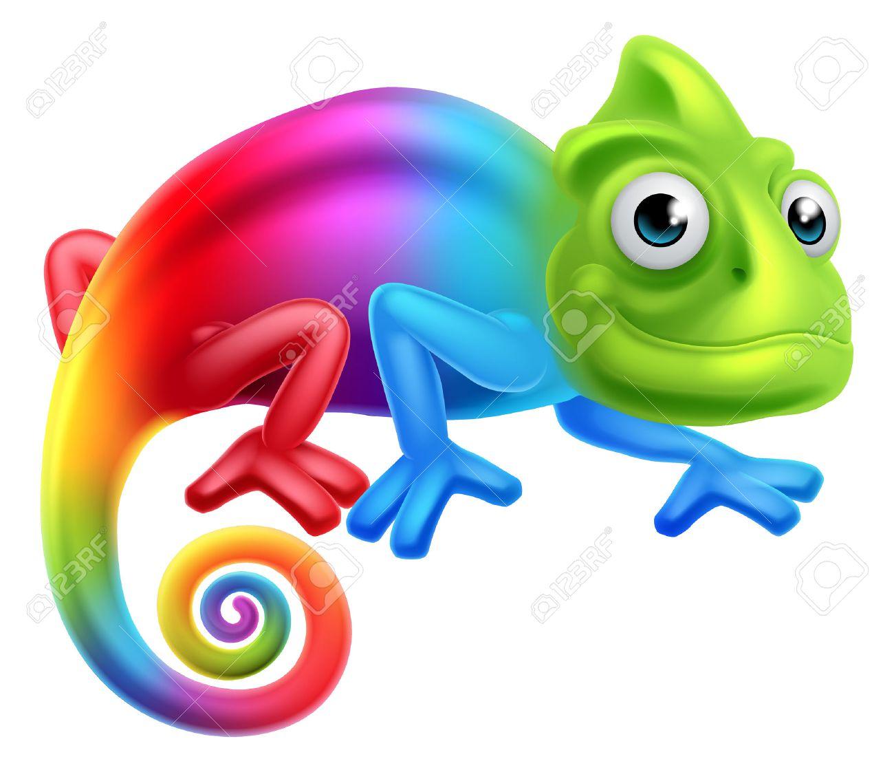 Clipart Strikingly Ideas Cham - Chameleon Clipart