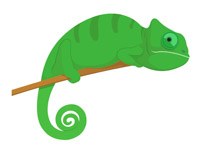 reptile-big-eyed-green-chameleon-clipart reptile big eyed green chameleon  clipart. Size: 60 Kb From: Chameleon Clipart