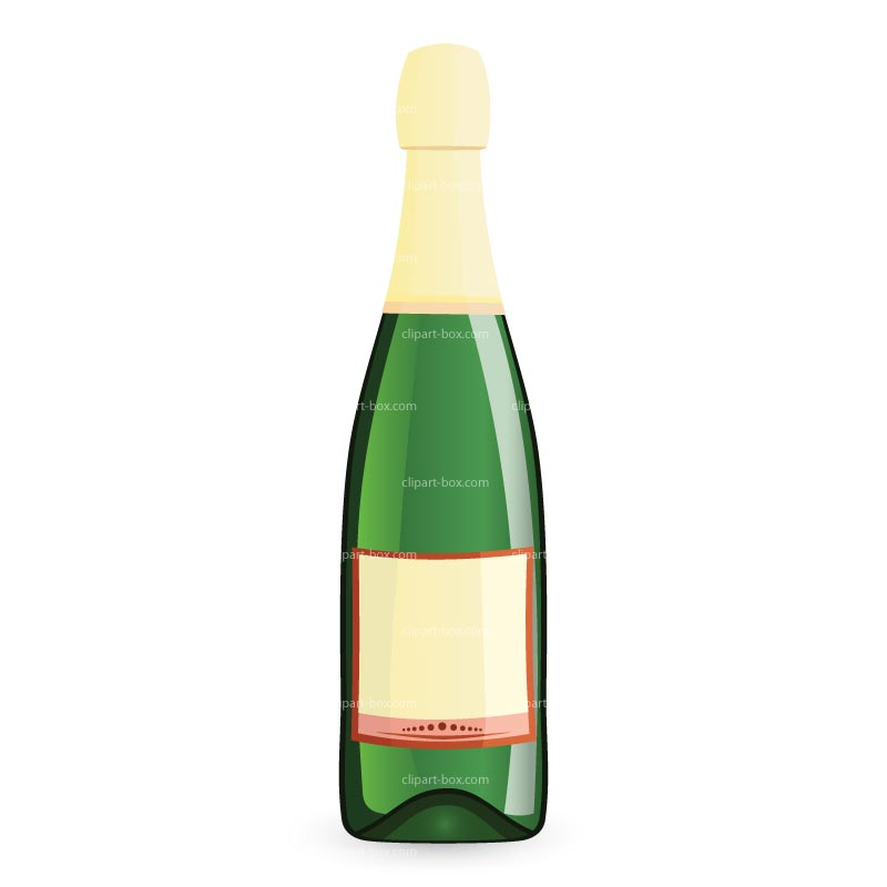 Champagne Bottle Clip Art Free - Clipart library