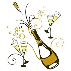 Champagne Bottle Clipart. Champagne Guide from Food .