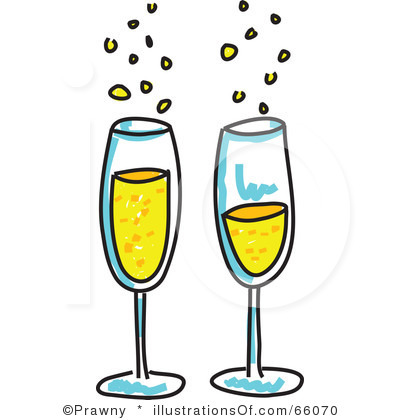 Champagne clipart: (RF) Champagne Clipart