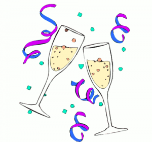 Clipart Champagne Glass.