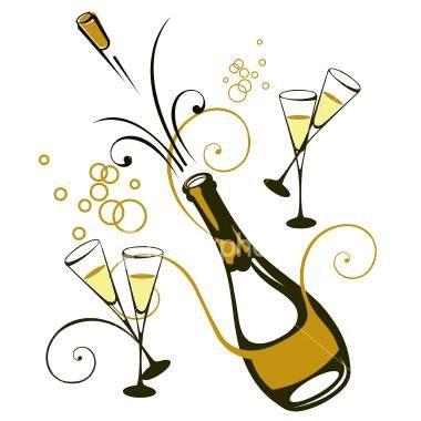 My favorite champagne drink: 5 oz champagne, 1 oz raspberry vodka, splash  of grenadine and add fresh blackberries.