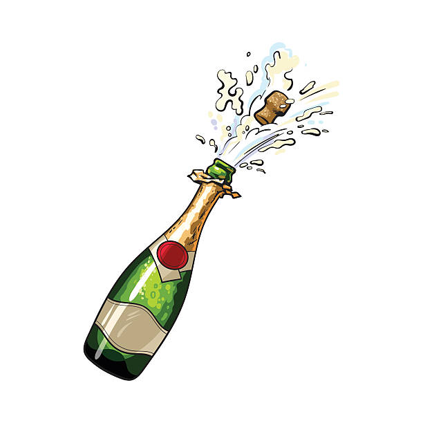 Pretty Looking Champagne Clipart Royalty Free Clip Art Vector Images  Illustrations