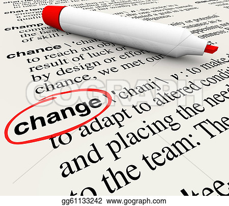 Change Dictionary Definition Word Adapt Evolve