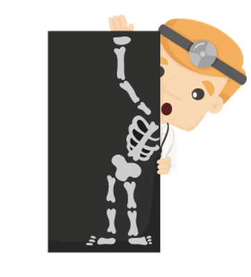 Characters with X-Ray, .