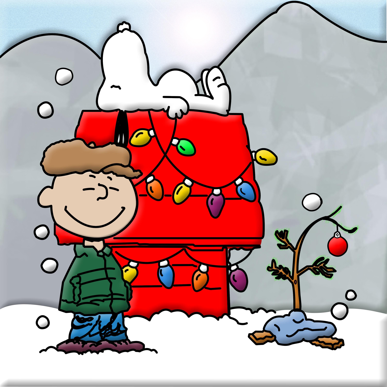 Charlie Brown Snoopy Christmas Starry Christmas Tree White
