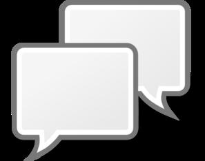 Internet Group Chat Clip Art