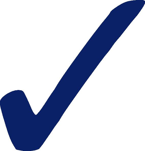 Check clipart blue #9 - Check Clipart