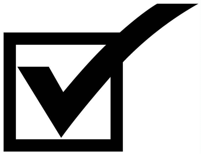 Checkmark Clipart
