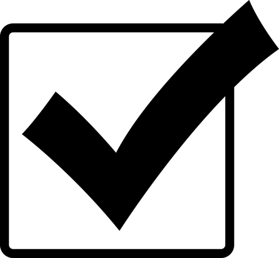 Check mark yes check clipart .