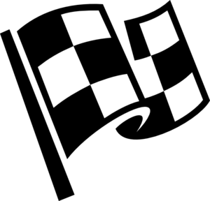 Checkered flag clip art at vector clip art