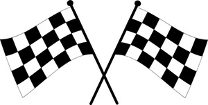 Checkered Flags Clip Art Images Checkered Flags Stock Photos Clipart