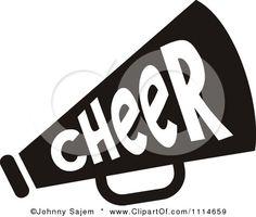 Clipart Cheer Megaphone Clipart