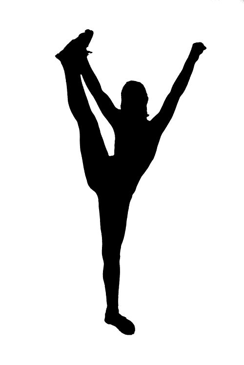 Cheerleading Stunt Silhouette | Go Back u003e Gallery For u003e Cheer Stunt  Silhouette