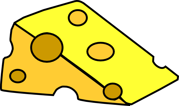 Yellow Cheese Clipart #1