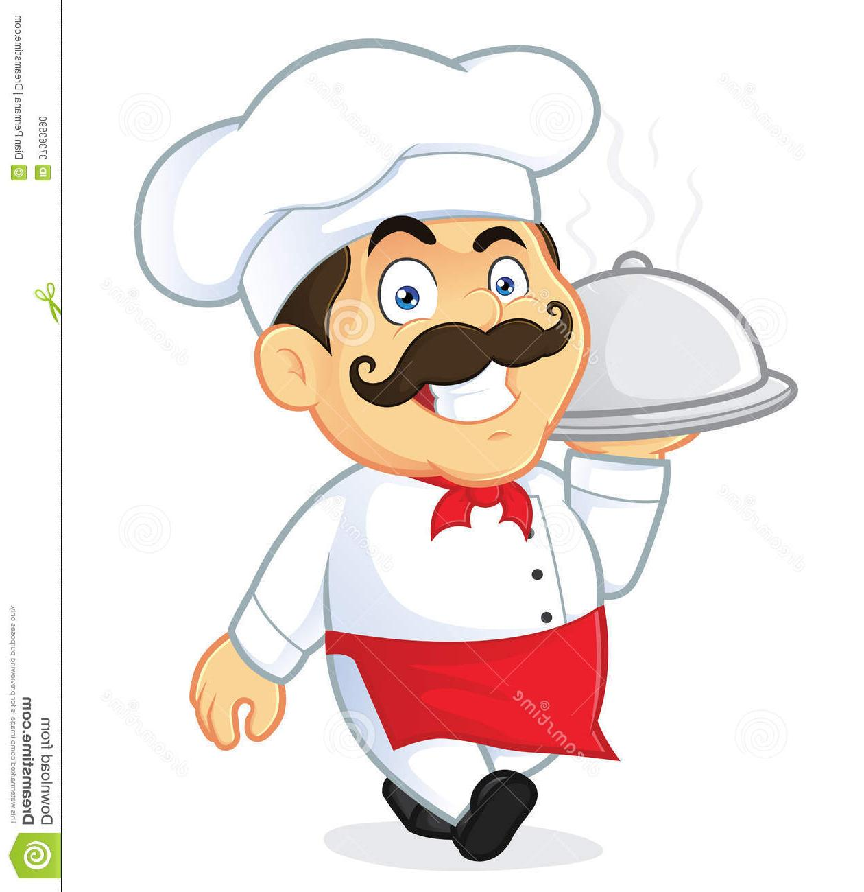 Happy chef clipart