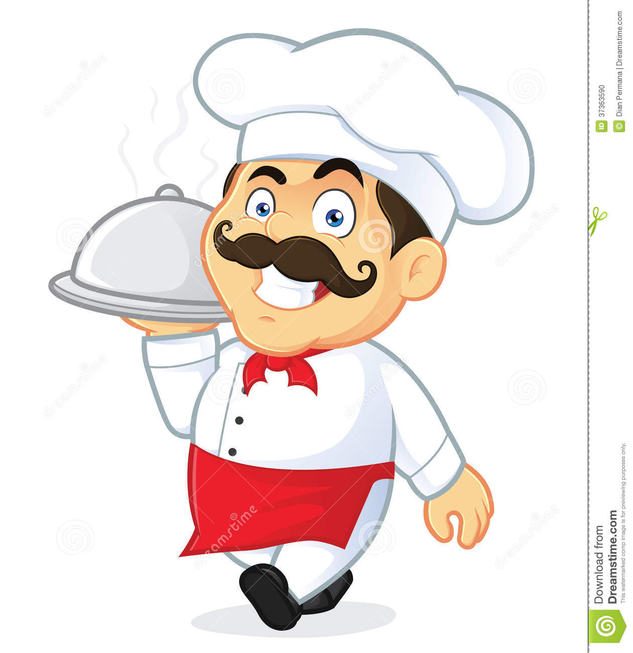 Man clipart chef #4