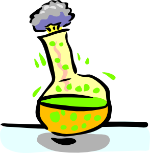 Chemical Experiment Clip Art . .