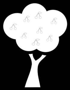 Cherry Tree Clip Art