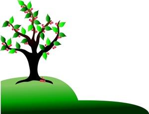 ... Cherry Tree Clip Art u2013 Clipart Free Download ...