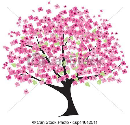 ... cherry tree - vector cherry tree