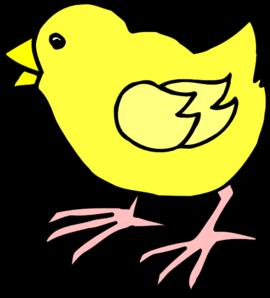 Cartoon Baby Chick Clip Art