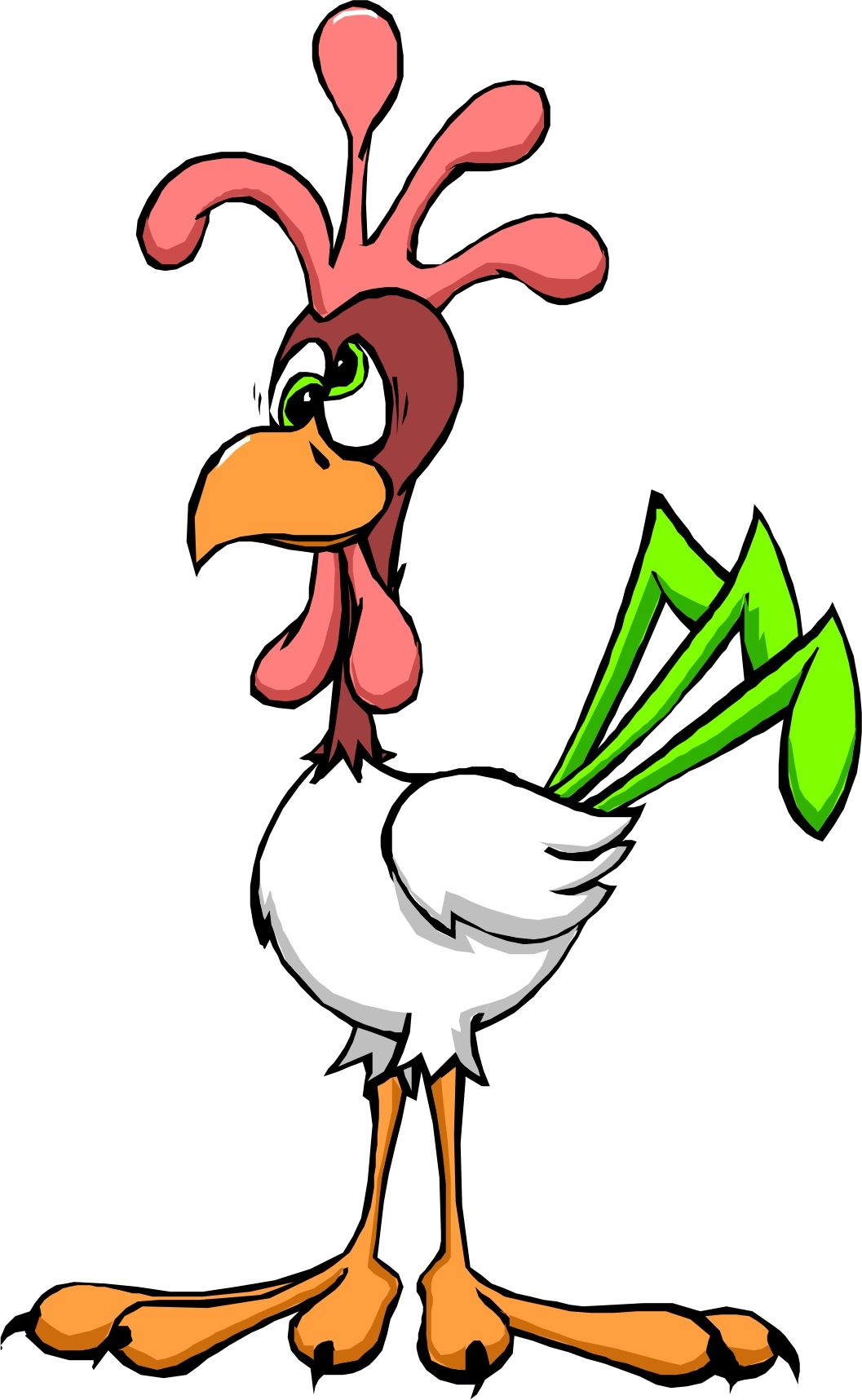 Cartoon Chickens - ClipArt Best