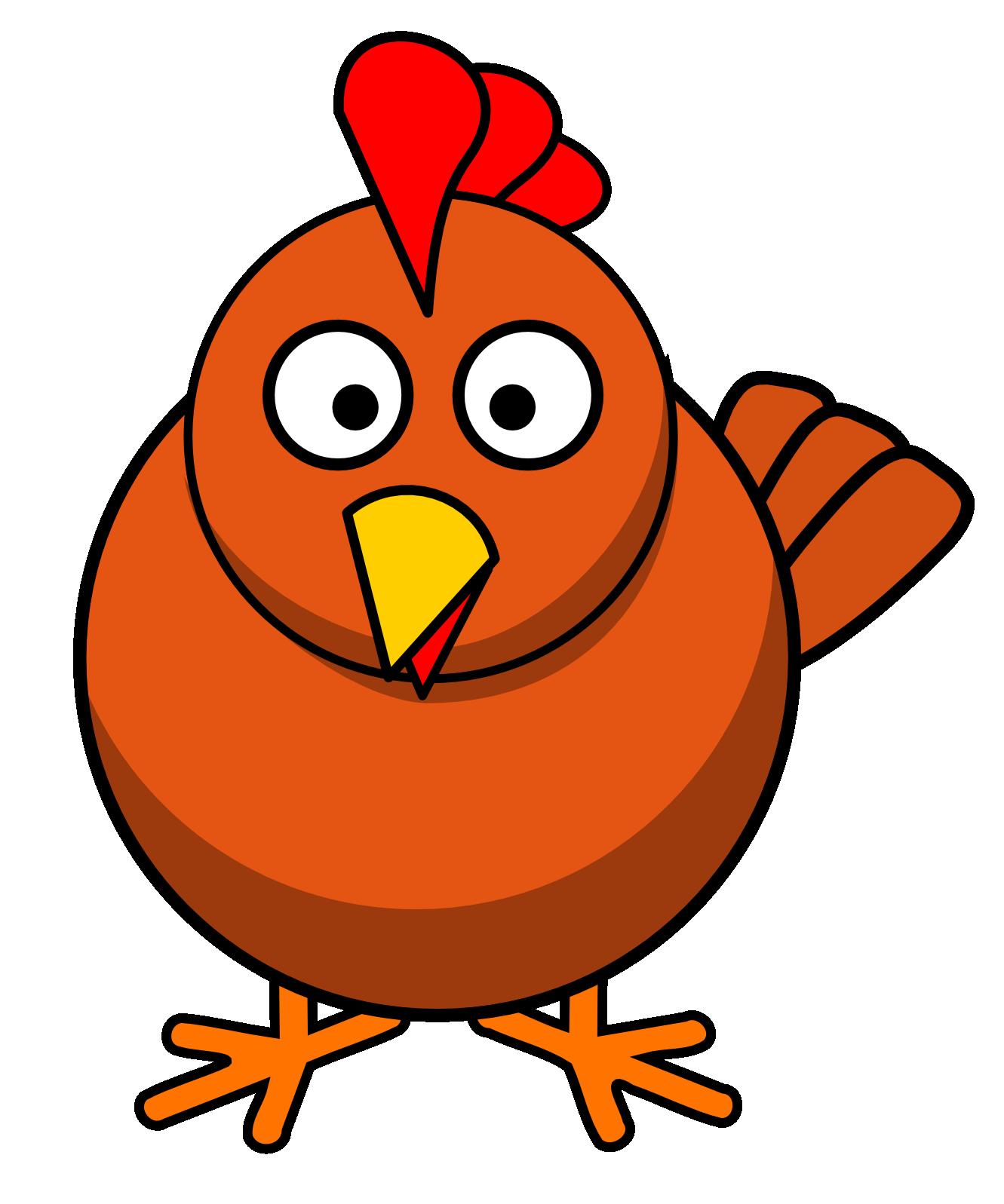 Chicken clipart, Cute chicken