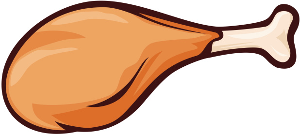 Chicken Leg Clipart