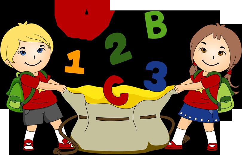 Children And School Clipart
