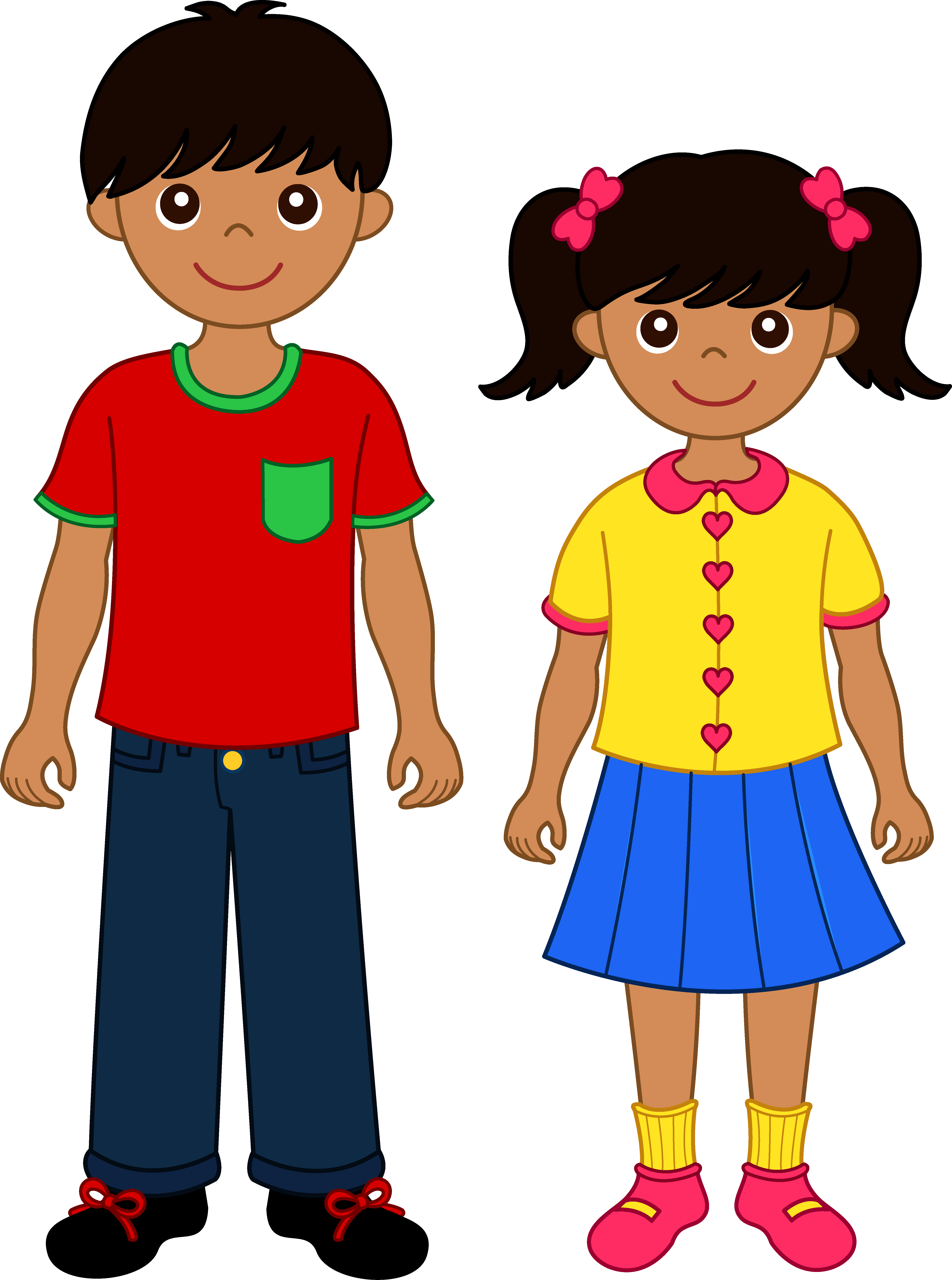 Black children clipart clipart collection click to see black