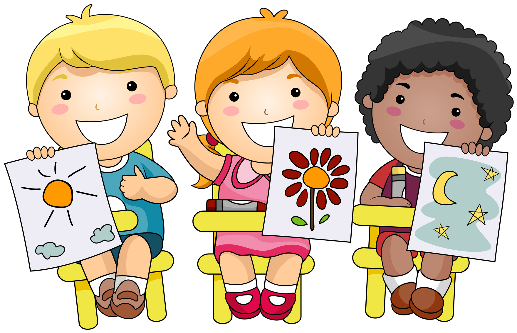 Cartoon images for children clipart