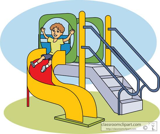 Children Spiral Playground .