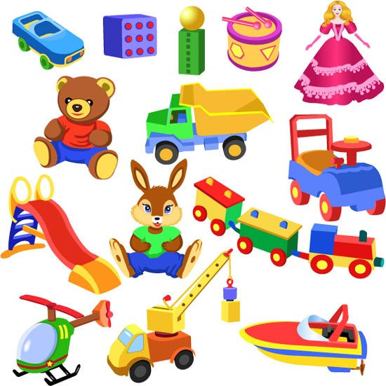Childrens Toys Clipart Free Clip Art Images