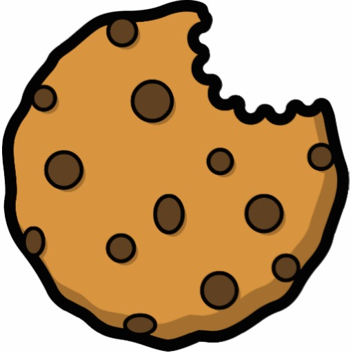 Chip Cookies On The Counter In A Vector Illustration Clipart