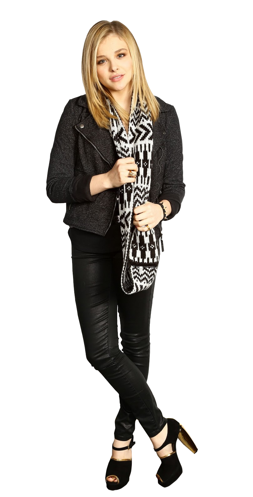 Chloe Grace Moretz PNG Pic