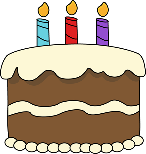 Chocolate Birthday Cake - Birthday Cake Clipart