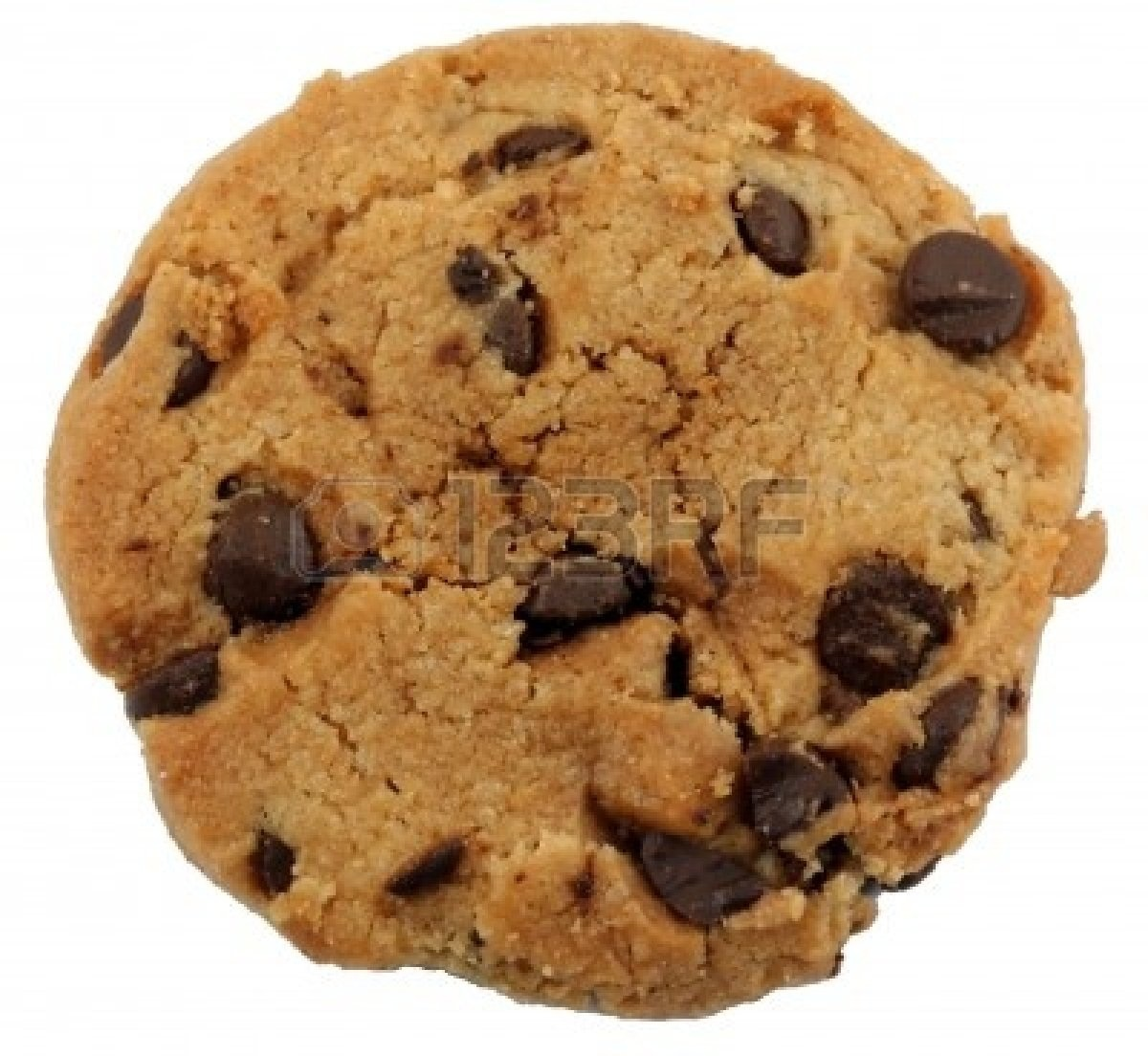 Chocolate Chip Cookie Clipart .