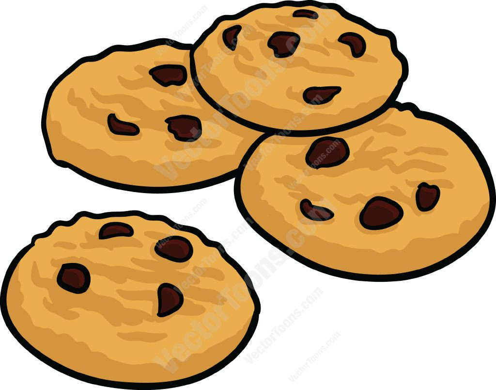 Chocolate Chip Cookies Clipart Cliparts Co