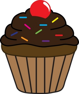 Chocolate Cupcakes Clipart Clipart Panda Free Clipart Images