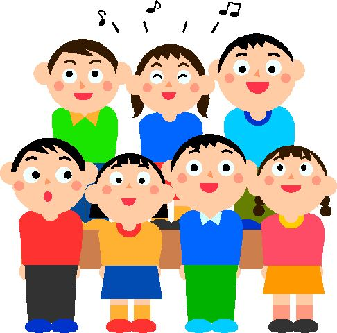Chorus Singing Clipart. Pictures Of People Singing In Church