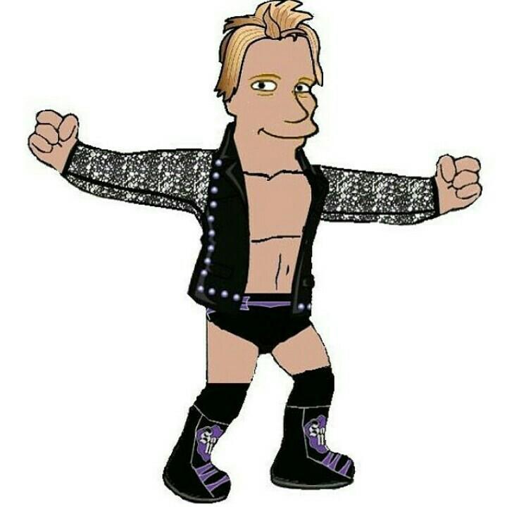 Chris Jericho/ Simpsons style